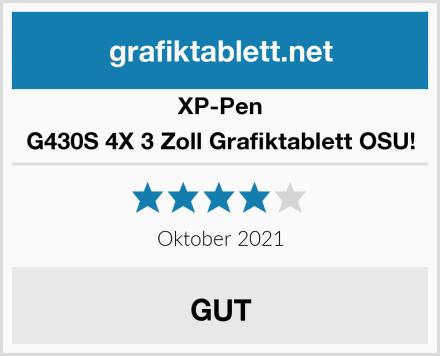 XP-Pen G430S 4X 3 Zoll Grafiktablett OSU! Test
