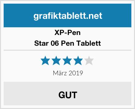 XP-Pen Star 06 Pen Tablett Test