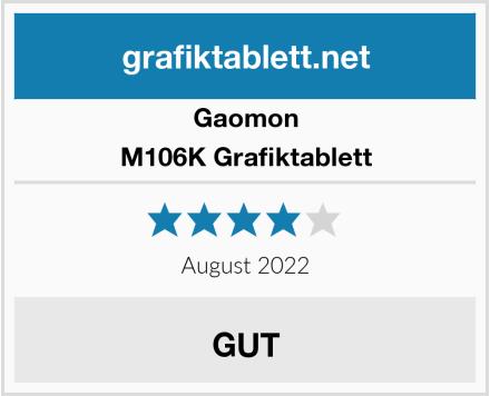 Gaomon M106K Grafiktablett Test
