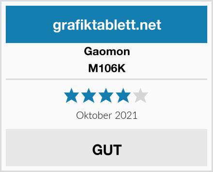 Gaomon M106K Test