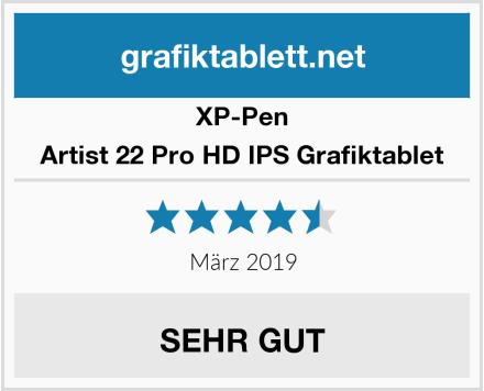 XP-Pen Artist 22 Pro HD IPS Grafiktablet Test