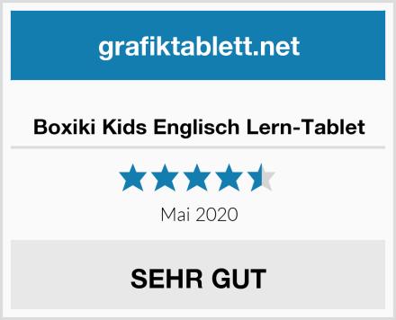 Boxiki Kids Englisch Lern-Tablet Test