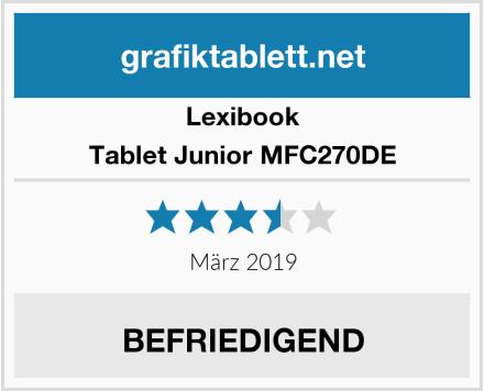 Lexibook Tablet Junior MFC270DE Test