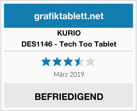 KURIO DES1146 - Tech Too Tablet Test