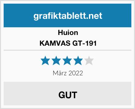 Huion KAMVAS GT-191 Test