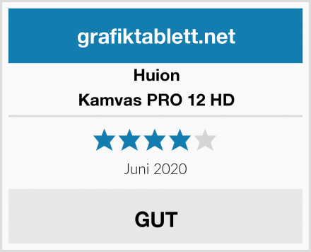 Huion Kamvas PRO 12 HD Test