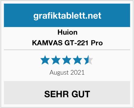 Huion KAMVAS GT-221 Pro Test