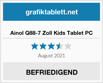 Ainol Q88-7 Zoll Kids Tablet PC Test
