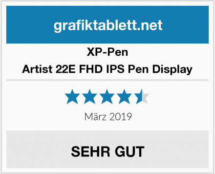 XP-Pen Artist 22E FHD IPS Pen Display Test