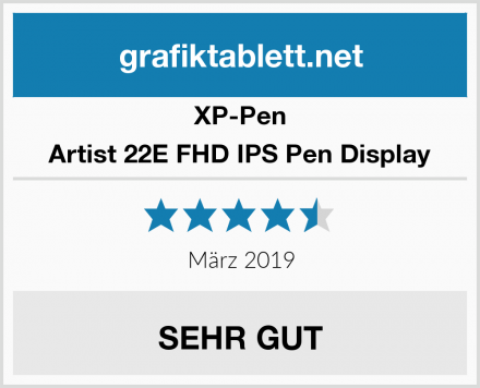 XP-Pen Artist 22E FHD IPS Pen Display Test