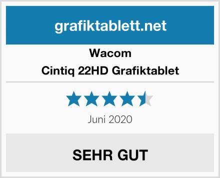 Wacom Cintiq 22HD Grafiktablet Test