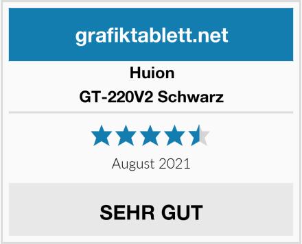 Huion GT-220V2 Schwarz Test