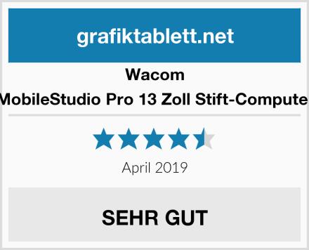 Wacom MobileStudio Pro 13 Zoll Stift-Computer Test