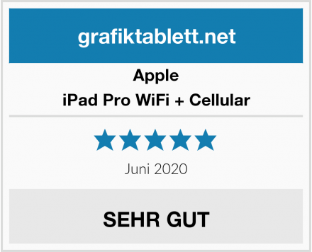 Apple iPad Pro WiFi + Cellular Test