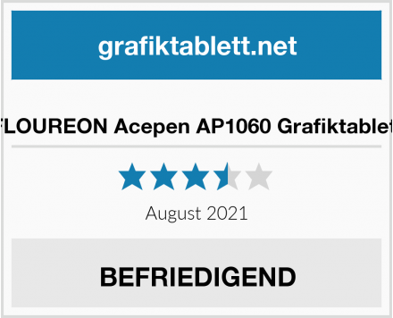 FLOUREON Acepen AP1060 Grafiktablett Test