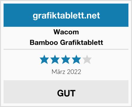 Wacom Bamboo Grafiktablett Test