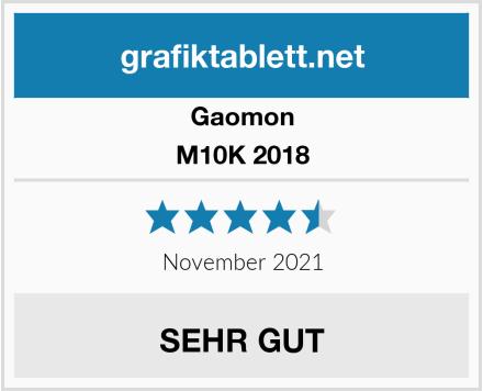 Gaomon M10K 2018 Test