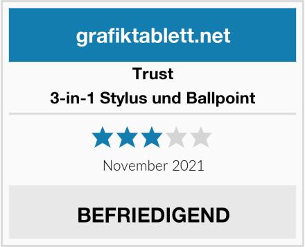 Trust 3-in-1 Stylus und Ballpoint Test