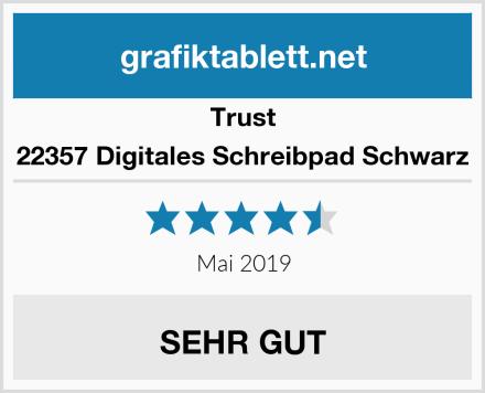 Trust 22357 Digitales Schreibpad Schwarz Test