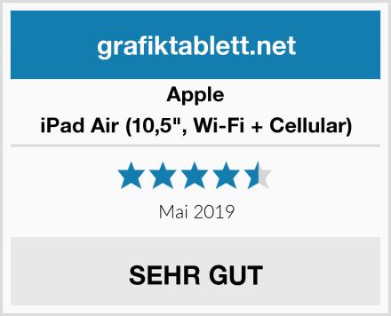 "Apple iPad Air (10,5"", Wi-Fi + Cellular) Test"