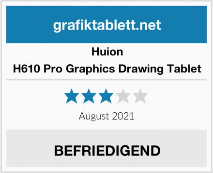 Huion H610 Pro Graphics Drawing Tablet Test