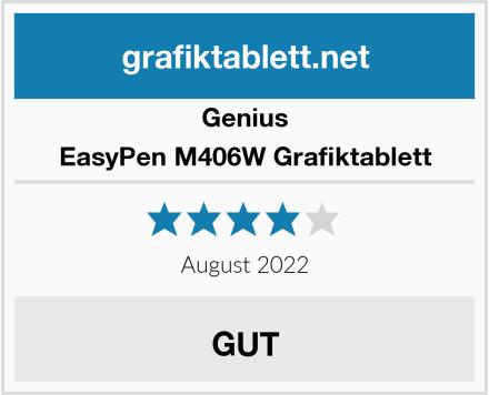 Genius EasyPen M406W Grafiktablett Test