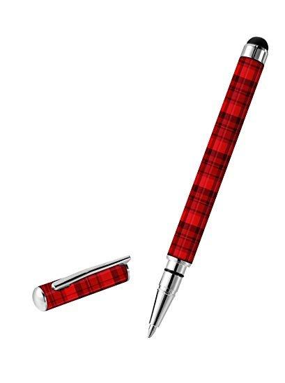 Trust Byloo Stylus und Ballpoint Pen tartan